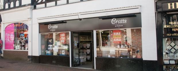 Bratts Cook Shop on Witton Street