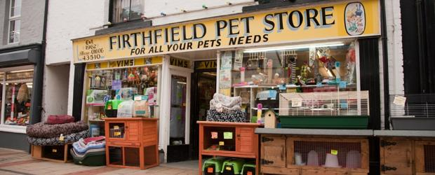 Firthfield Pet Store on Witton Street