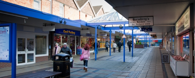 Market Way in the Weaver Square Shopping Centre