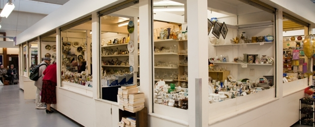 Mclintock Pottery & China in Northwich Indoor Market