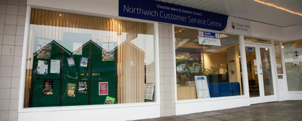 Northwich Customer Service Centre on the Arcade