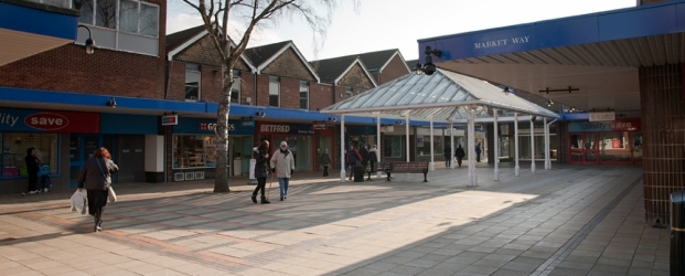 Town Square in Weaver Square Shopping Centre