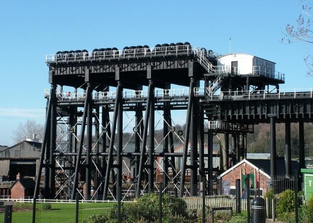Anderton Boat Lift near Northwich
