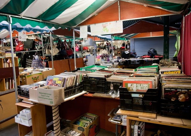 The Books, Music & Collectables on Northwich Outdoor Market