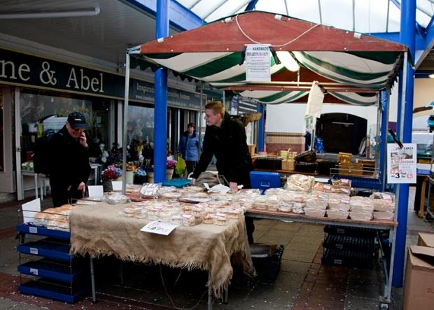 Deeside Bakery on Northwich Outdoor Market