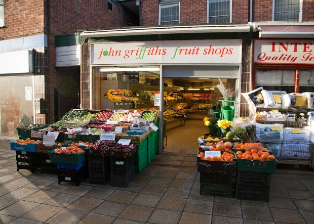 J Griffiths Greengrocers on Witton Walk
