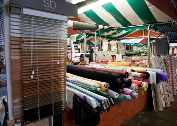 Jones Curtains on Northwich Outdoor Market