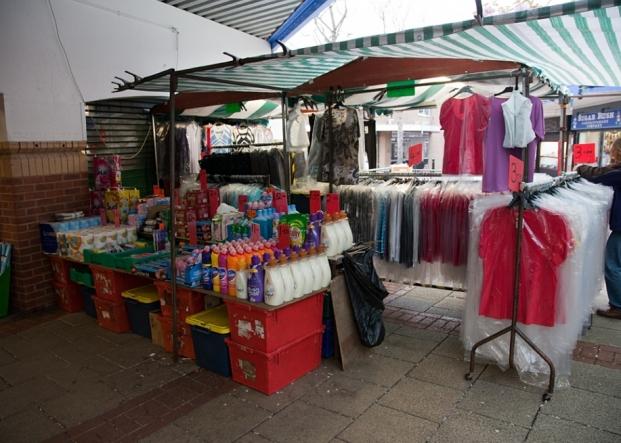 Ladieswear & Toiletries on Northwich Outdoor Market
