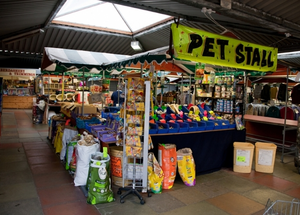 The Pet Stall on Northwich Outdoor Market