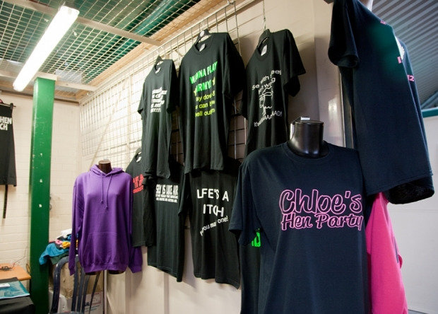 Printed Tees on Northwich Outdoor Market
