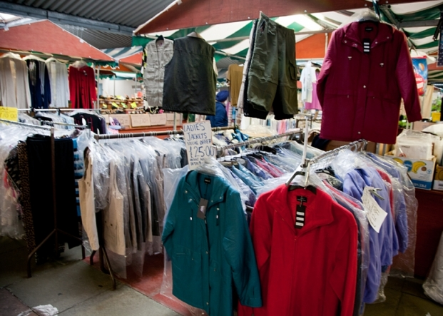 Quality Ladies & Mens Clothing on Northwich Outdoor Market