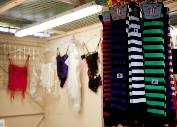 Ruby Ali Nightwear & Underwear on Northwich Outdoor Market