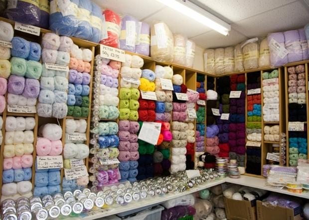 Busy Needles in Northwich Indoor Market