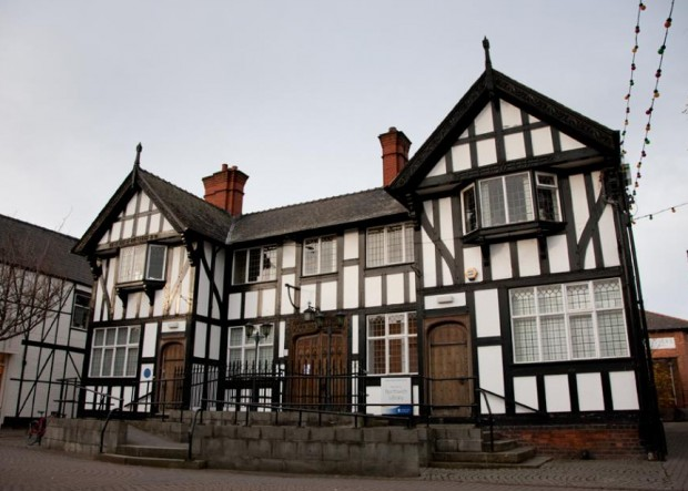 Northwich Library on Witton Street